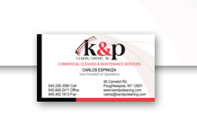 K & P Cleaning Services [stationary]