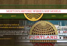 Morton's Historic Wooden Ship Models [web]